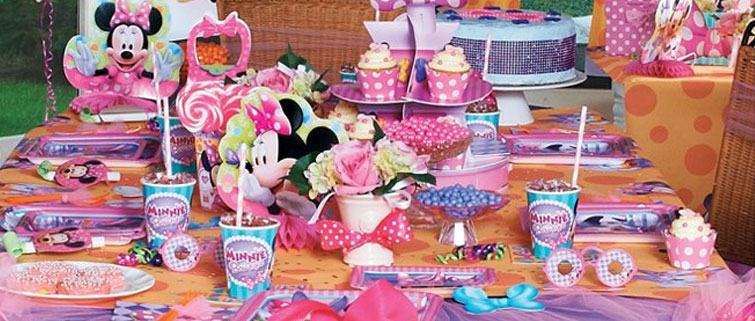 Minnie Mouse Party Supplies Girls Birthday Party Ideas Birthday