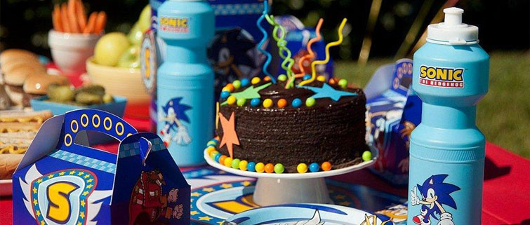 Sonic The Hedgehog Party Supplies Boys Birthday Party Ideas Birthday Express