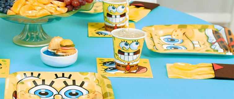Spongebob Party Supplies- Kids Party Supplies & Party Ideas ...