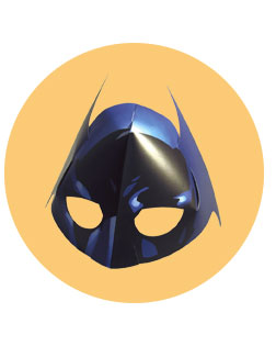 Dark Knight Mask